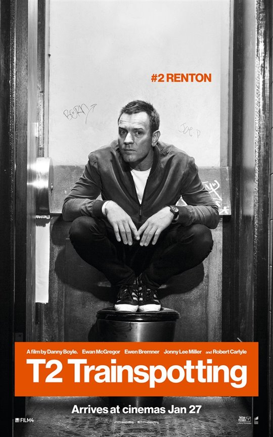 T2 Trainspotting Poster Large
