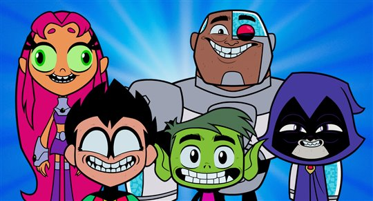 Teen Titans GO! to the Movies Poster Large