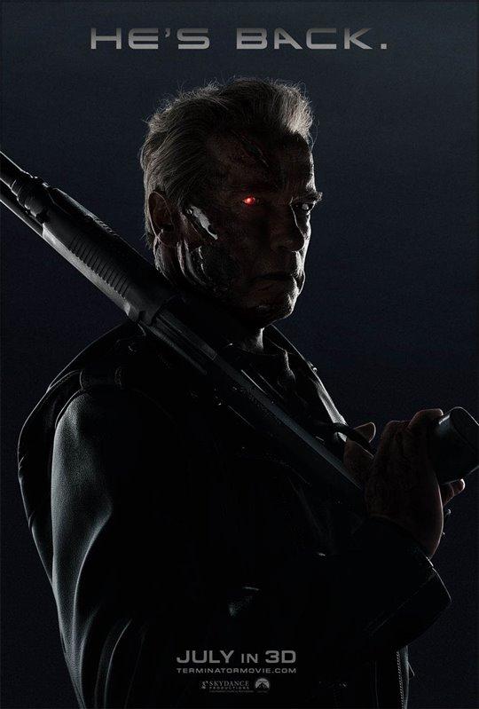 Terminator Genisys Poster Large