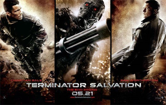 Terminator Salvation Poster Large
