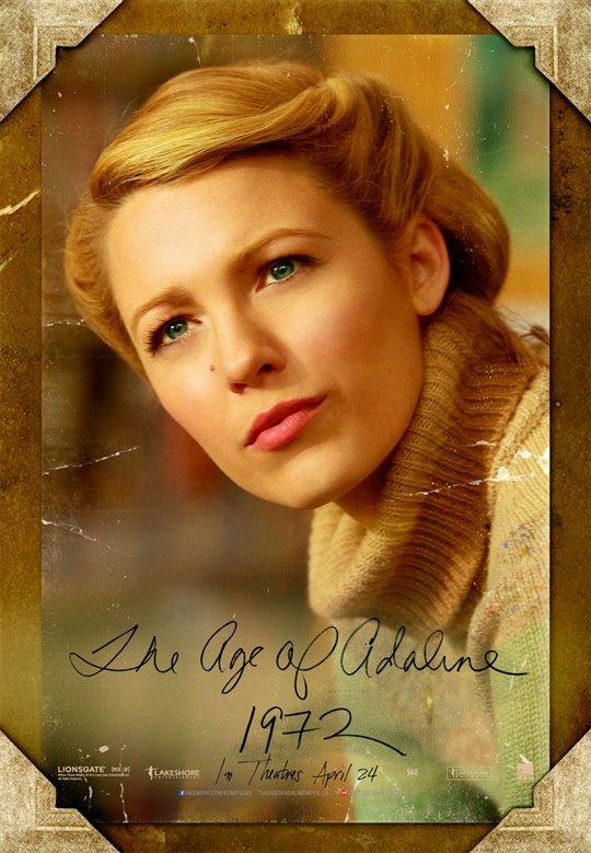 The Age of Adaline Poster Large