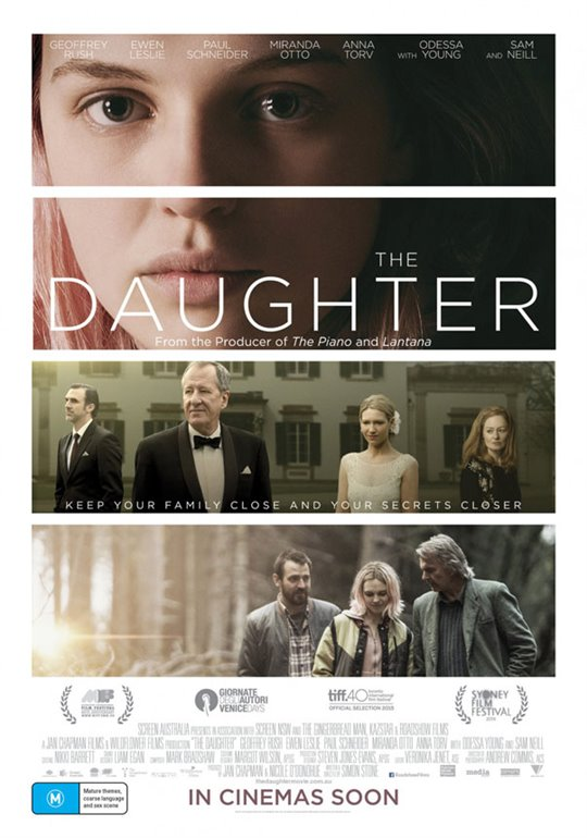 The Daughter Poster Large