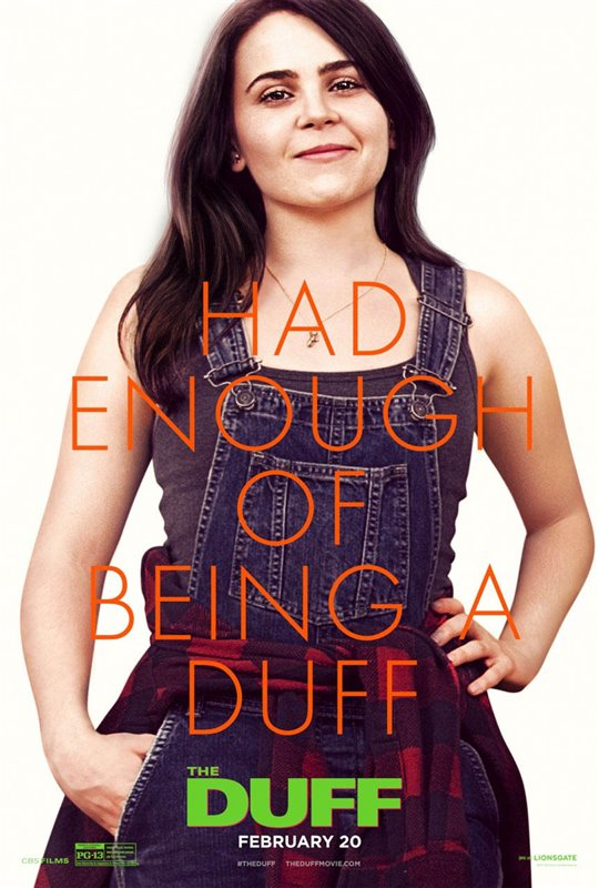 The DUFF Poster Large