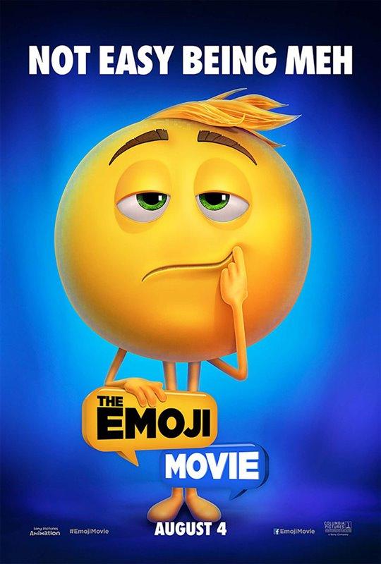 The Emoji Movie Poster Large