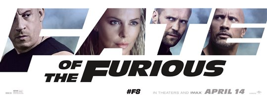 The Fate of the Furious Poster Large