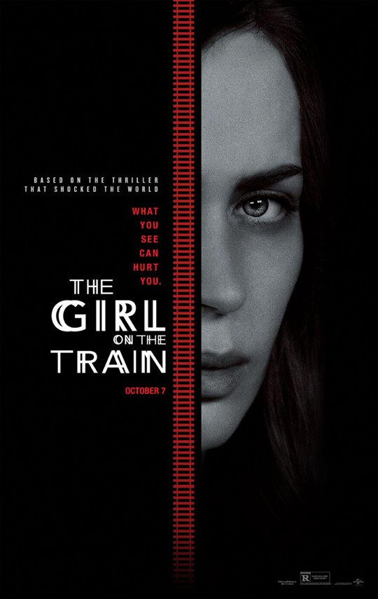 The Girl on the Train Poster Large