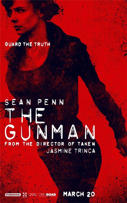 The Gunman Poster Large