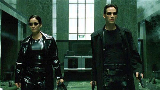 The Matrix Poster Large