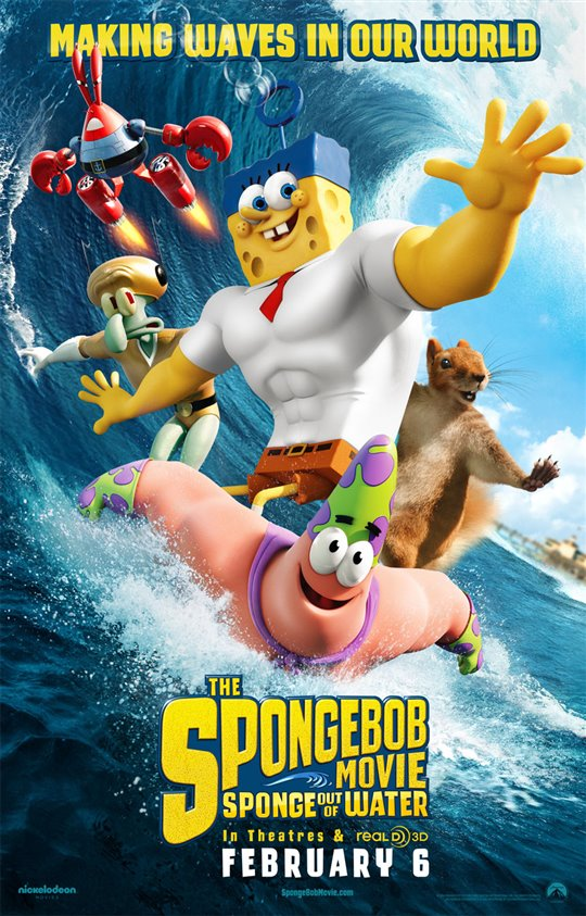 The SpongeBob Movie: Sponge Out of Water Poster Large
