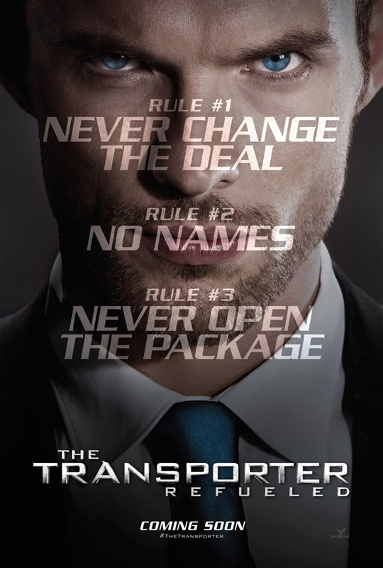 The Transporter Refueled Poster Large