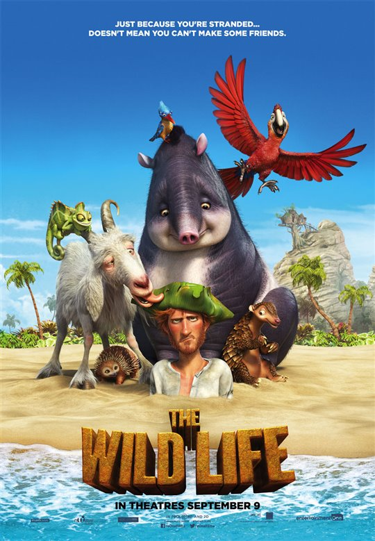 The Wild Life Poster Large