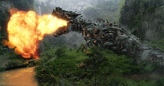 Transformers: Age of Extinction Poster Large