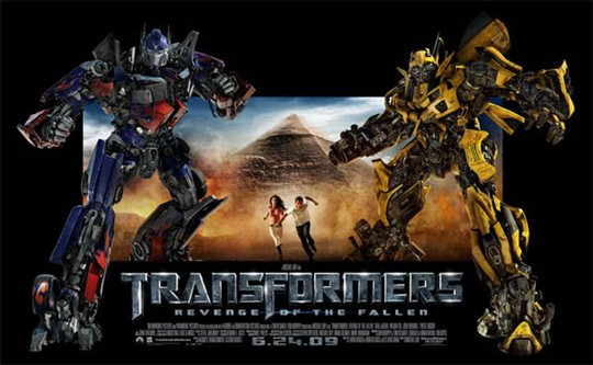 Transformers: Revenge of the Fallen Poster Large