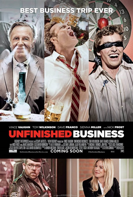 Unfinished Business Poster Large