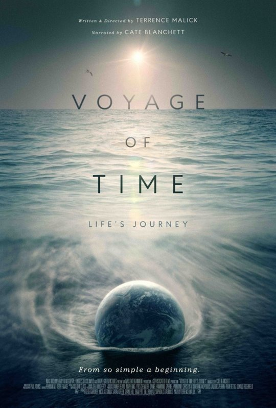 Voyage of Time: Life's Journey Poster Large