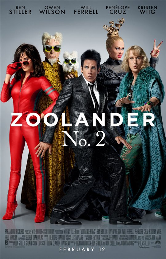Zoolander 2 Poster Large