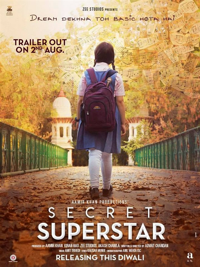 Secret Superstar (Hindi w/e.s.t.) Photo 1 - Large
