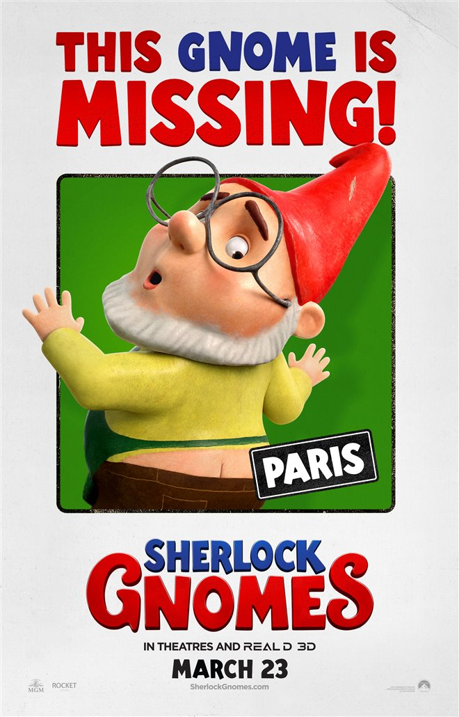 Sherlock Gnomes Photo 42 - Large