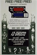 13 Ghosts (1960) Movie Poster