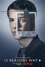 13 Reasons Why (Netflix) Affiche de film