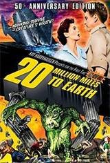 20 Million Miles To Earth Movie Poster