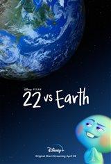 22 vs. Earth (Disney+) Movie Poster