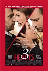 3 Hearts Large Poster