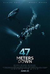 47 Meters Down Movie Poster Movie Poster