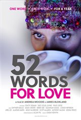 52 Words for Love Affiche de film