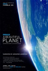 A Beautiful Planet: The IMAX Experience Movie Poster