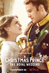 A Christmas Prince: The Royal Wedding (Netflix) Movie Poster