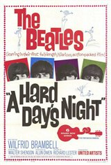 A Hard Day's Night Large Poster