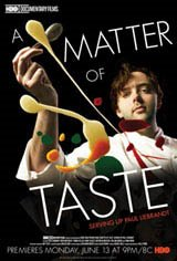 A Matter of Taste: Serving Up Paul Liebrandt Movie Poster