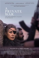 A Private War Affiche de film