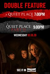 A Quiet Place Double Feature Large Poster
