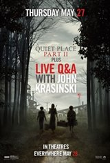 A Quiet Place Part II with LIVE Q&A from John Krasinski Large Poster