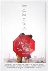 A Rainy Day In New York Affiche de film