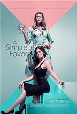 A Simple Favor Movie Poster Movie Poster