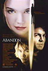 Abandon Movie Poster Movie Poster