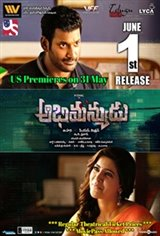 Abhimanyudu Movie Poster