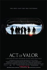 Act of Valor: Super Bowl Spot Movie Poster
