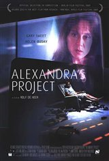 Alexandra's Project Movie Poster Movie Poster