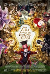 Alice Through the Looking Glass 3D Movie Poster