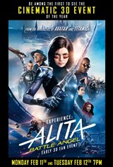 Alita: Battle Angel - Early 3D Fan Event Affiche de film