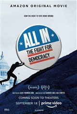 All In: The Fight for Democracy (Amazon Prime Video) Movie Poster