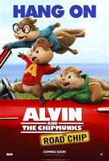 Alvin and the Chipmunks: The Road Chip Movie Poster Movie Poster