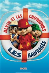Alvin et les Chipmunks : Les naufragés Movie Poster