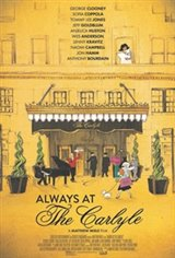 Always at The Carlyle Movie Poster