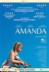 Amanda (v.o.f.) Affiche de film