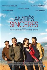 Amitiés sincères Movie Poster Movie Poster